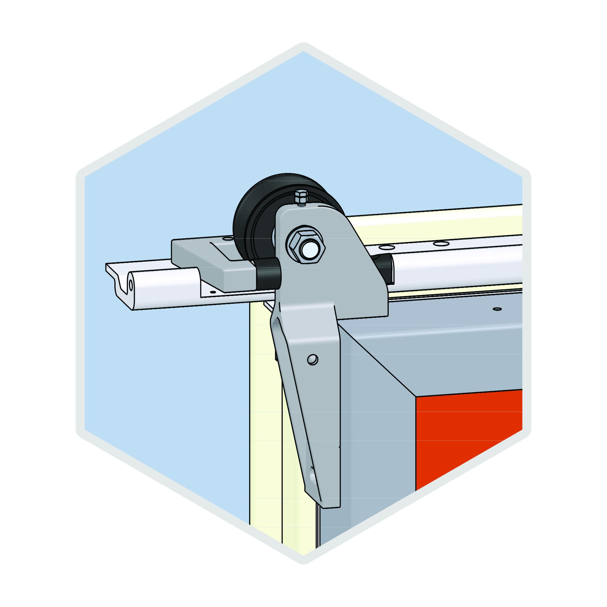 commercial freezer door gaskets