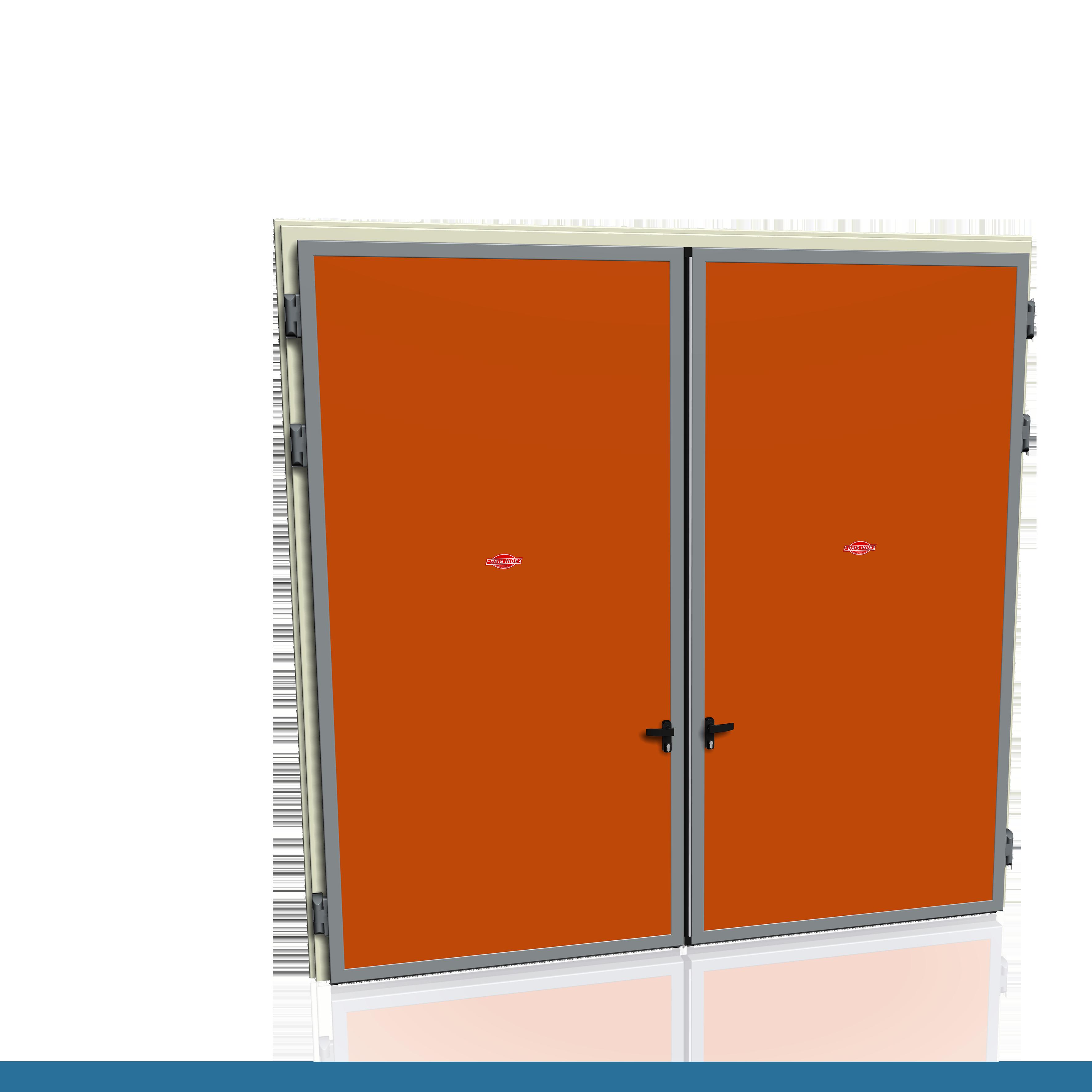 Porte Ibride - Maniglia antipanico - Due ante - Pannello porta in ...
